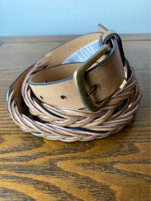 Pieces Braided Belt multicolored polyurethane