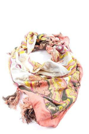Pieces Neckerchief pink-primrose abstract pattern casual look