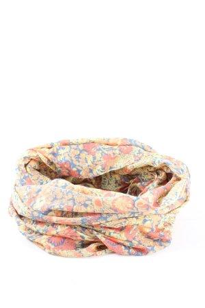 Pieces Neckerchief flower pattern casual look