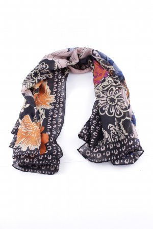 Pieces Foulard noir imprimé allover style d'affaires
