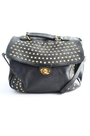 Pieces Handtasche schwarz Business-Look
