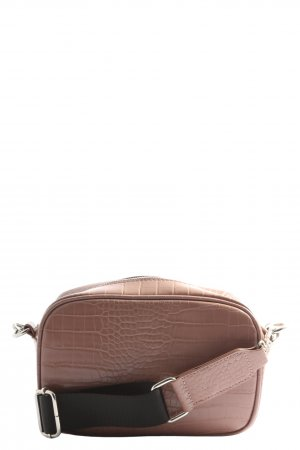 Pieces Handtasche bronzefarben Casual-Look