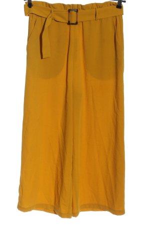Pieces Pantalon taille haute orange clair style décontracté