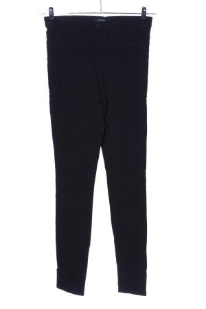 Pieces High Waist Jeans schwarz Business-Look