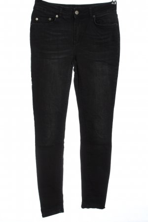 Pieces High Waist Jeans schwarz Casual-Look