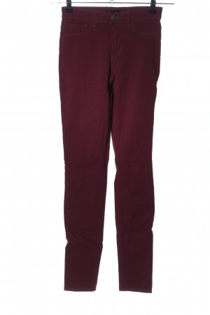Pieces High Waist Jeans rot Casual-Look