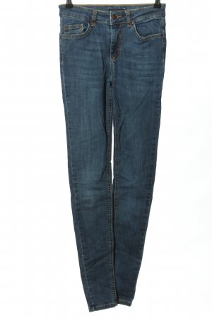Pieces Hoge taille jeans blauw casual uitstraling
