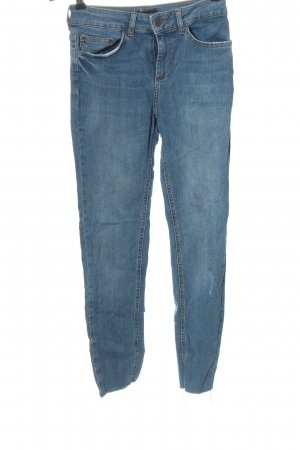 Pieces High Waist Jeans blau Casual-Look