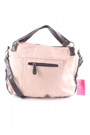 Pieces Bolsa Hobo marrón-nude look casual
