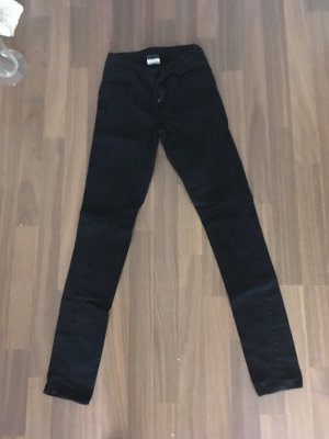 Pieces Low-Rise Trousers black
