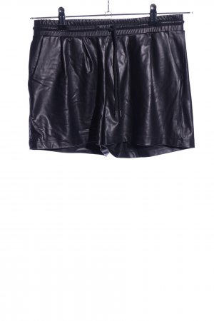 Pieces Hot Pants schwarz Casual-Look