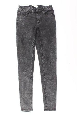 Pieces Jeans Größe S grau aus Baumwolle