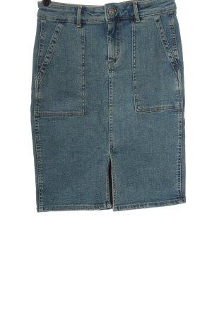 Pieces Jeansrock blau Casual-Look