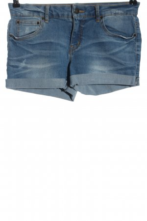 Pieces Jeansshorts blau Casual-Look