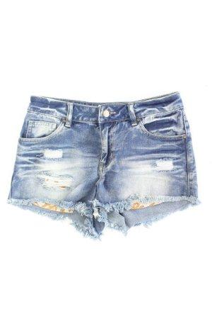 Pieces Jeansshorts Größe 36 blau aus Baumwolle
