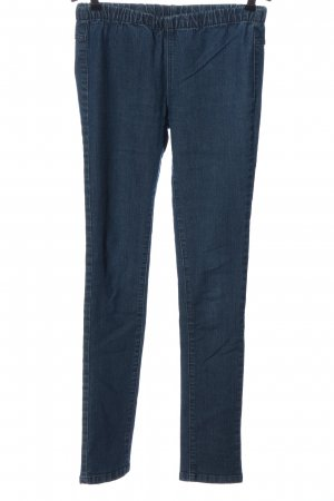 Pieces Jeggings blu stile casual