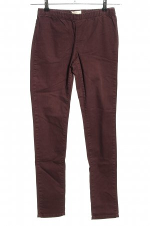 Pieces Jeggings brown casual look