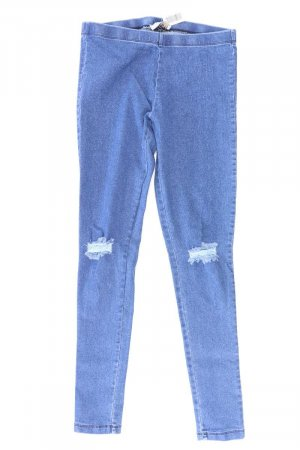 Pieces Jeggings Größe M/L blau