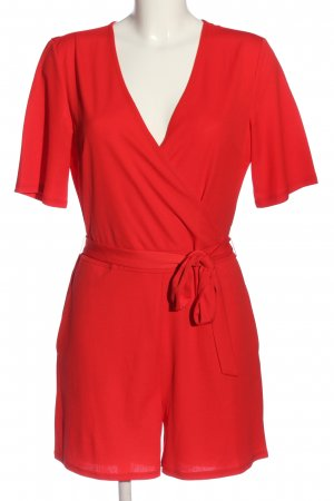 Pieces Jumpsuit rot Casual-Look