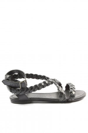 Pieces Komfort-Sandalen schwarz Casual-Look