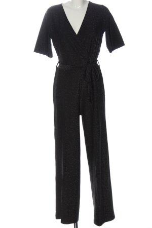 Pieces Langer Jumpsuit black elegant