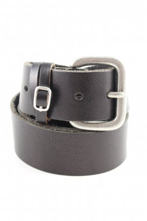 Pieces Leather Belt black casual look