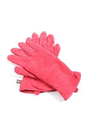 Pieces Gants en cuir rose style décontracté