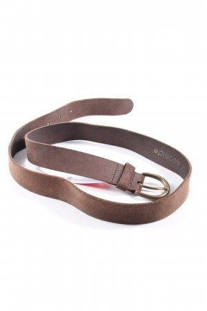 Pieces Ceinture en similicuir brun style d'affaires