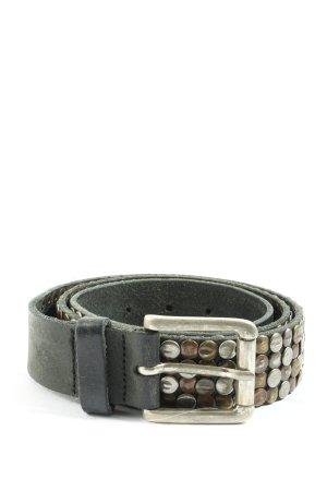 Pieces Cintura in ecopelle nero stile casual