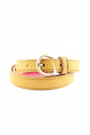 Pieces Faux Leather Belt primrose casual look