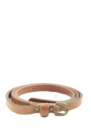 Pieces Faux Leather Belt brown casual look