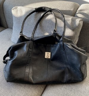 Pieces Sports Bag black-gold-colored