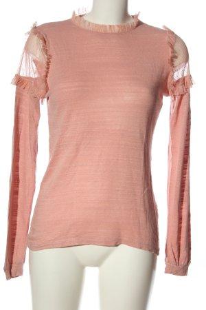 Pieces Longsleeve pink Casual-Look