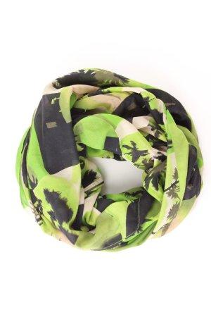 Pieces Sciarpa estiva verde-verde neon-menta-verde prato-verde prato-verde bosco