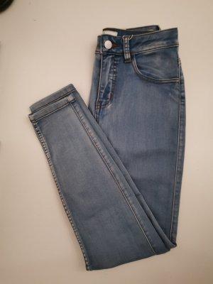 Pieces Jeans a 7/8 azzurro-azzurro