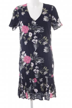 Pieces Midikleid florales Muster Casual-Look