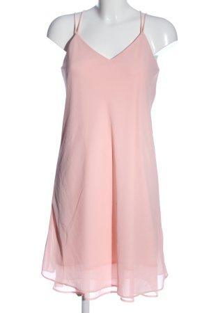 Pieces Chiffonkleid pink Elegant