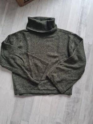 Pieces Turtleneck Sweater dark green