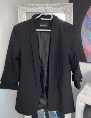 Pieces Korte blazer zwart