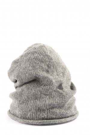 Pieces Knitted Hat light grey casual look