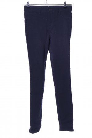 Pieces Röhrenhose blau Casual-Look