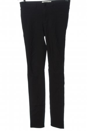 Pieces Drainpipe Trousers black casual look