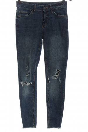 Pieces Tube Jeans blue casual look