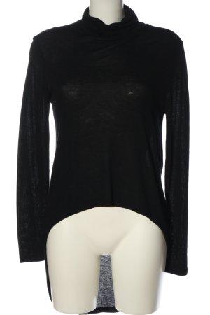 Pieces Turtleneck Sweater black casual look
