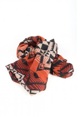 Pieces Snood abstract patroon casual uitstraling
