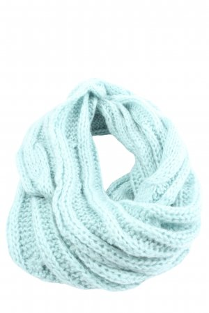 Pieces Snood blue cable stitch casual look