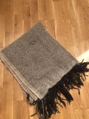 Pieces Woolen Scarf oatmeal-grey