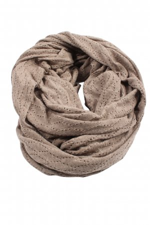 Pieces Tube Scarf brown casual look