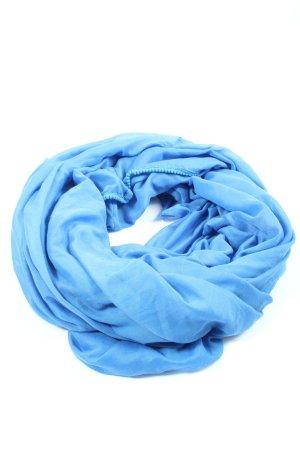Pieces Écharpe tube bleu style décontracté