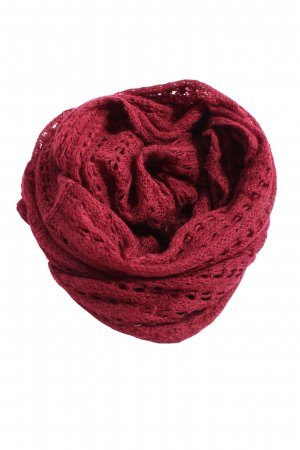 Pieces Bufanda tubo rojo look casual